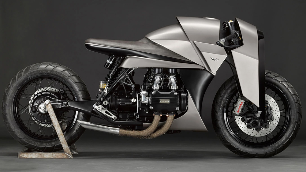 Death Machines of London's Kenzo Motorcyle
