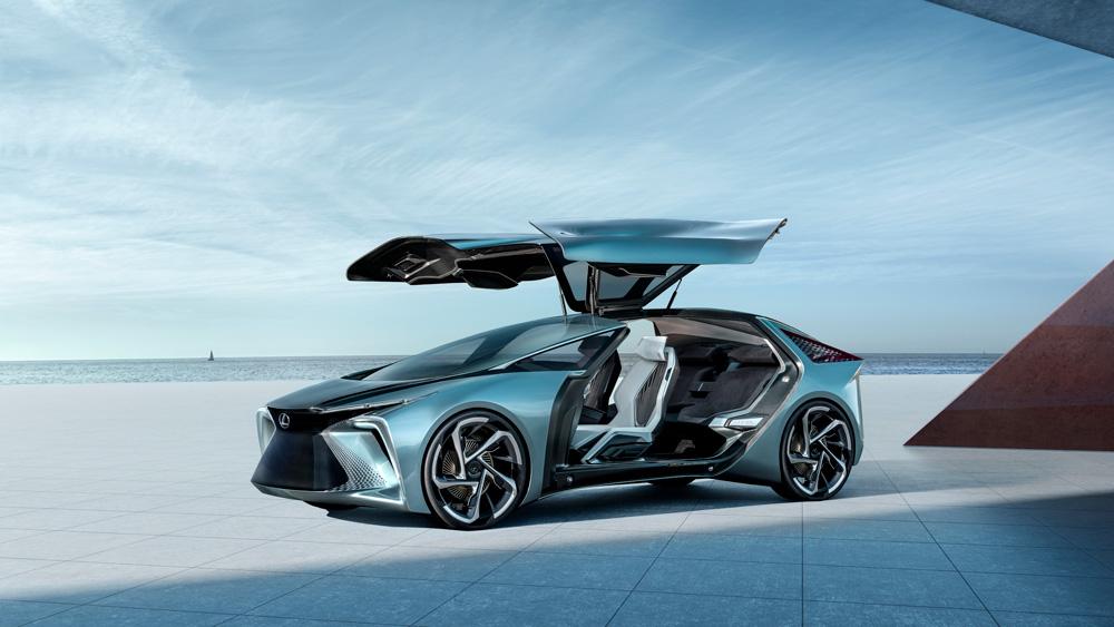 The Lexus LF-30 Electrified concept.
