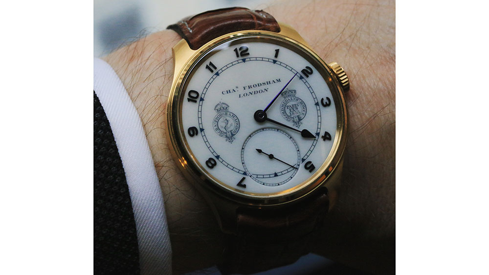 Mat Craddock's Frodsham Double Impulse Chronometer