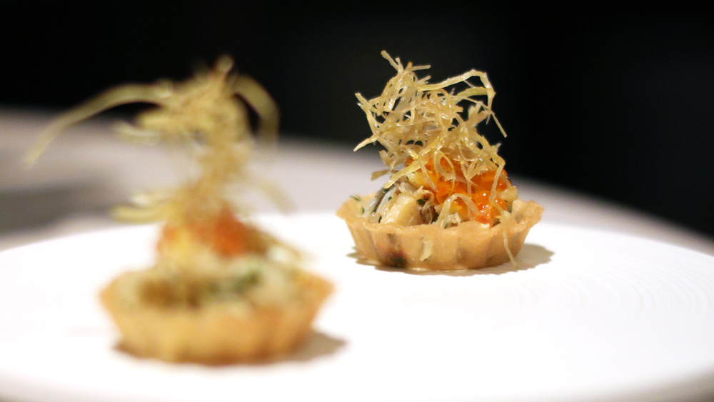 king crab tartlet melisse
