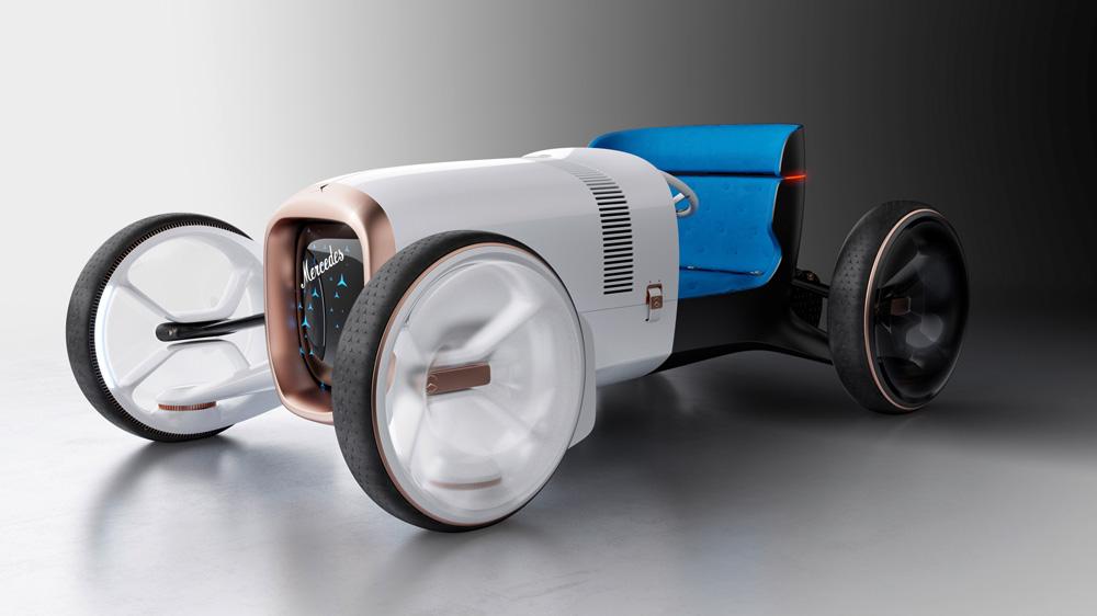 The Vision Mercedes Simplex concept.