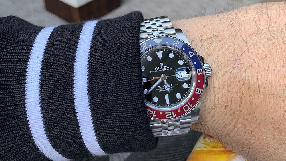 "Mike Haymond's Rolex ""Pepsi"" GMT Master II"