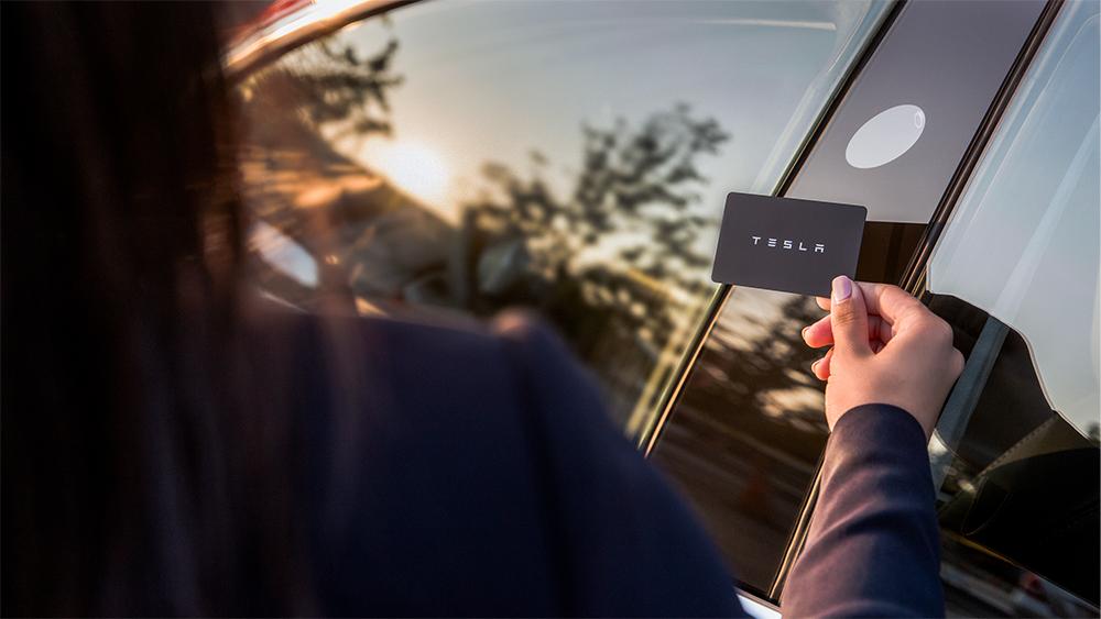 Tesla Model 3 Keycard Door Entry