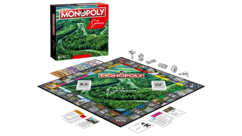 The Nürburgring-themed version of Monopoly