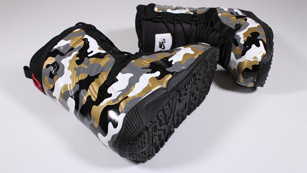 Nike Foamposite Kaiju Snowboarding Boots