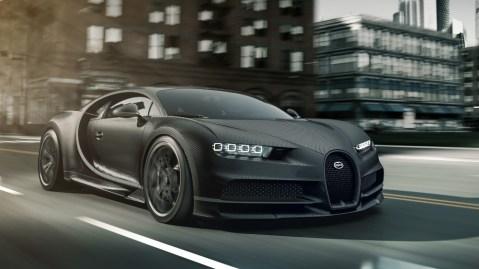 The Bugatti Chiron Noire Sportive