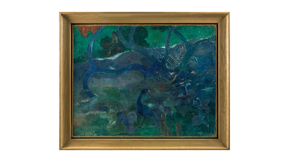 Te Bourao II, Paul Gauguin (1897)