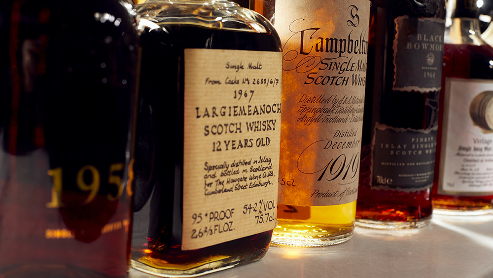 Whiskey Auctioneer's Perfect Collection Auction of Richard Gooding's whiskey collection.