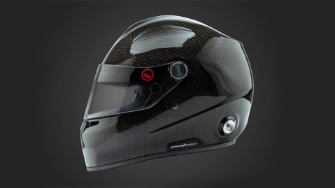 One of Pininfarina and Roux Racings SRL's new helmets