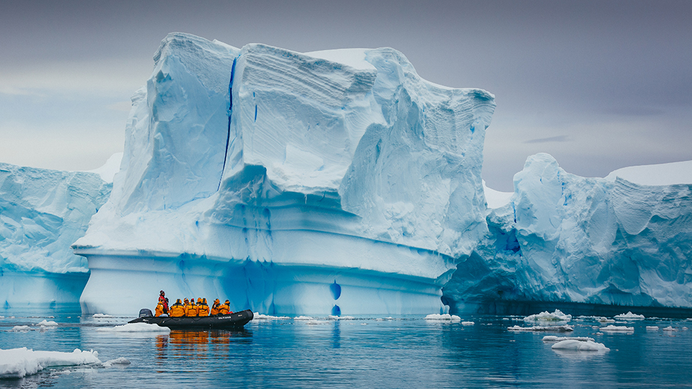 A photo from one of Quark Expedition's polar trips