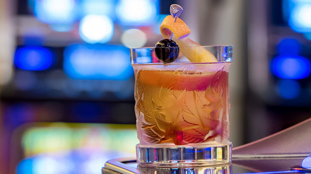 San Manuel Casino's Rare and Fine Cocktail