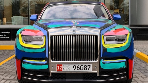 Rolls Royce Phantom by Bradley Theodore