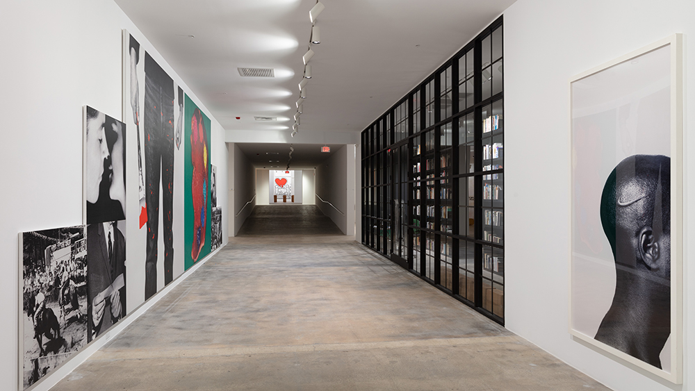 The interior of the Rubell Museum