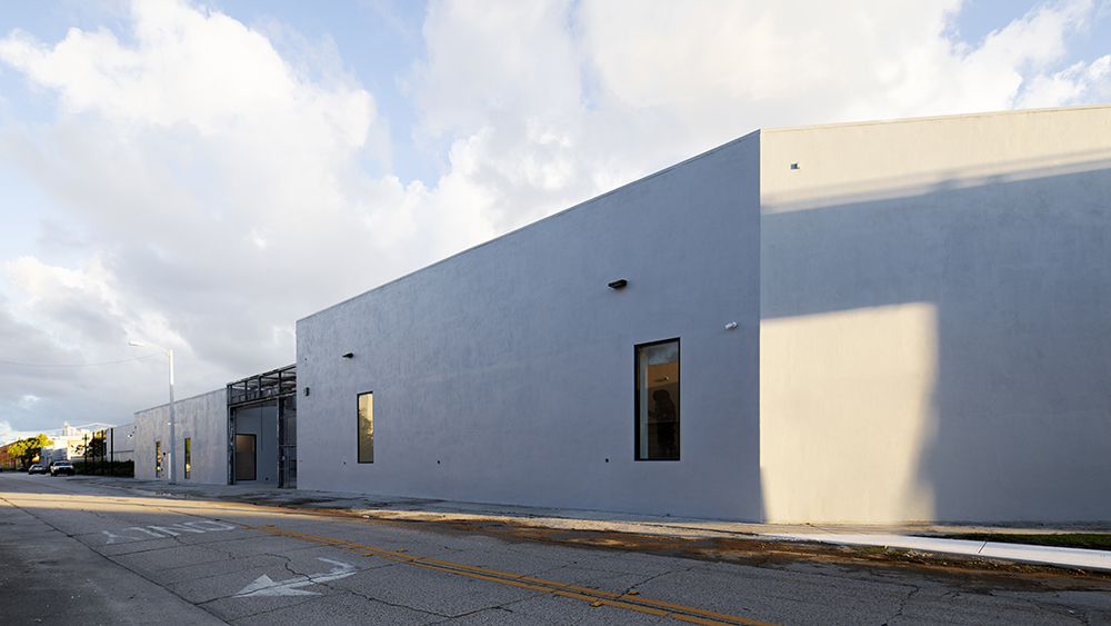 The exterior of the Rubell Museum
