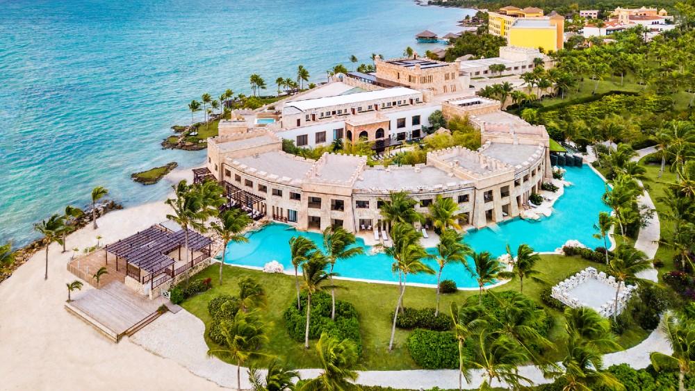 Sanctuary Cap Cana Castle Suite Dominican Republic