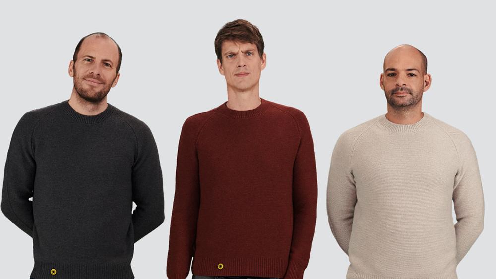 Sheep Inc founders: Michael Wessely, Edzard van der Wyck and Gavin Erasmus