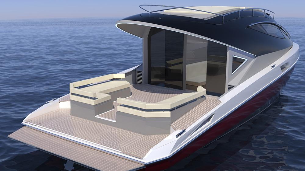 Pierpaolo Lazzarini's F33 Spaziale yacht