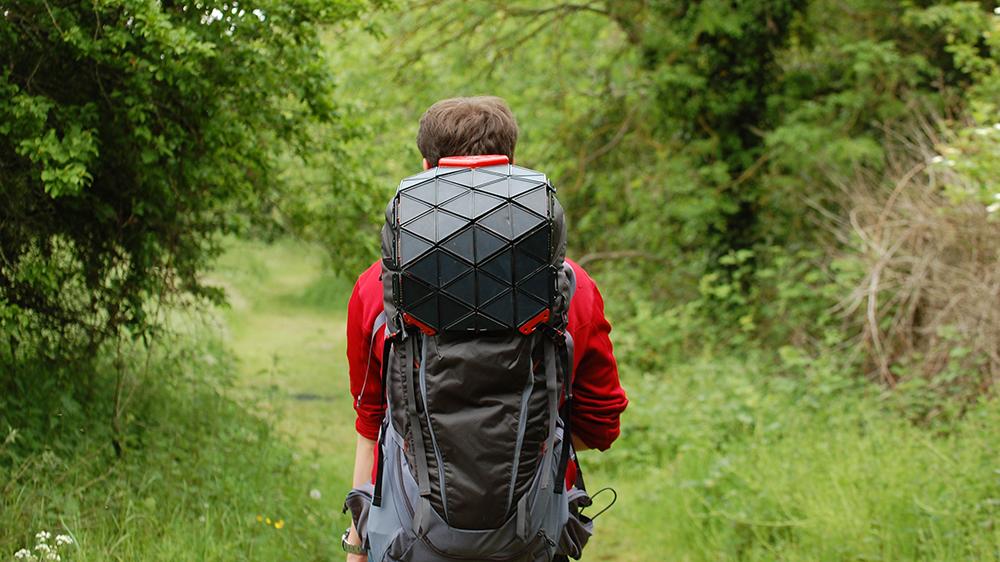 Brad Brister's SunUp Solar Backpack Concept