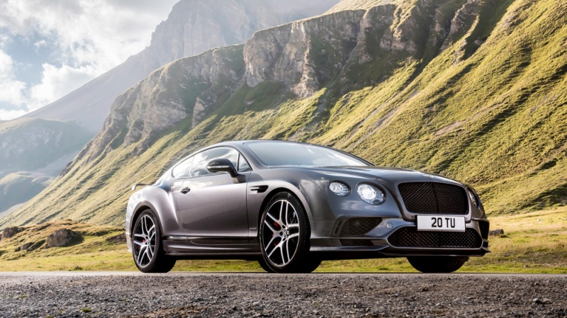 The Bentley Continental Supersports.