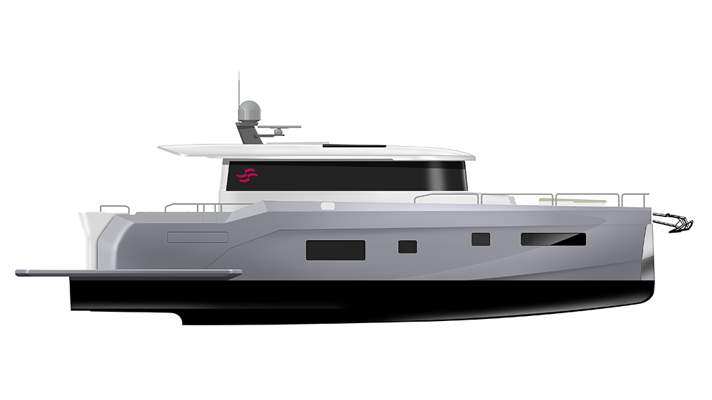 The Sirena Yachts 58 Coupé