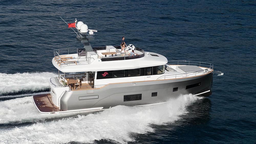 The Sirena Yachts 58