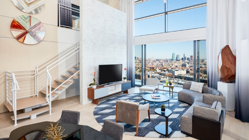 William Vale Hotel Brooklyn Penthouse