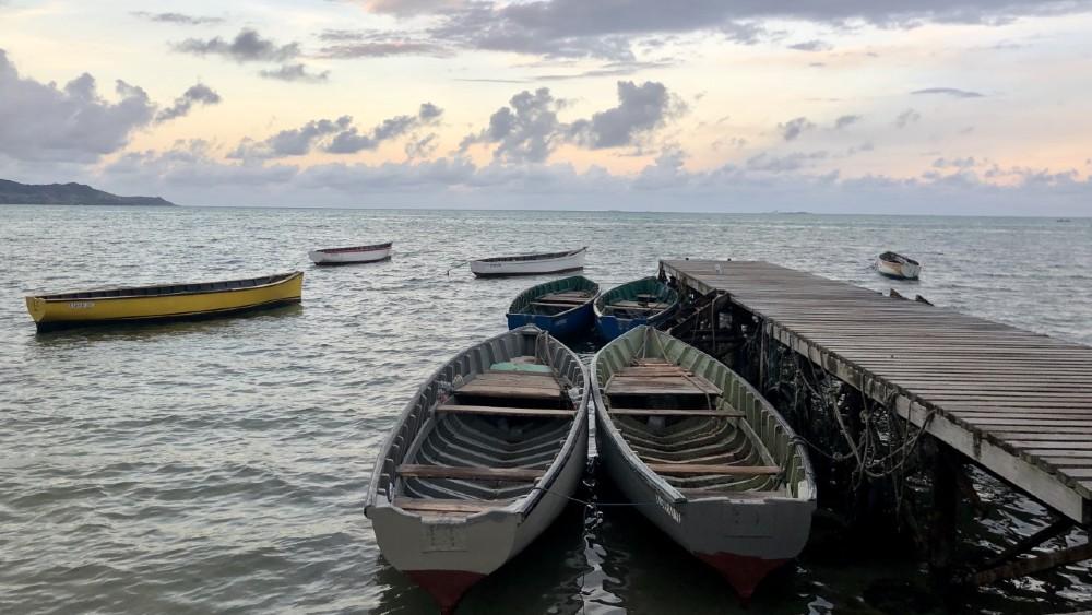 Anantara Iko Mauritius Resort pier
