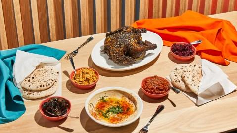 za'atar roast chicken