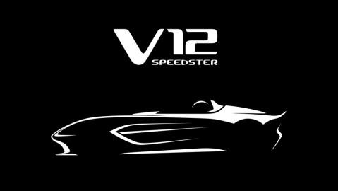 Aston Martin Teases Its New V12 Speedster.