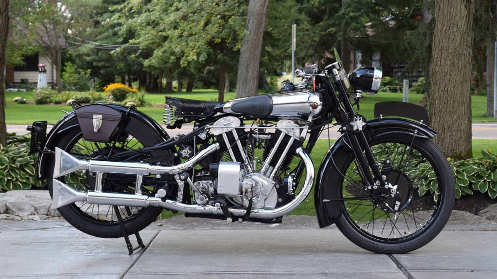 A 1930 Brough Superior SS100.