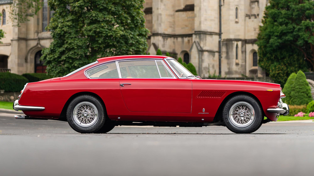 A 1962 Ferrari 250 GTE 2+2.