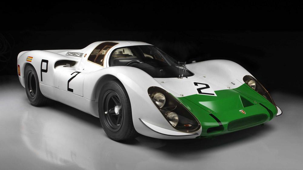 A 1968 Porsche 908 in the Brumos Collection.