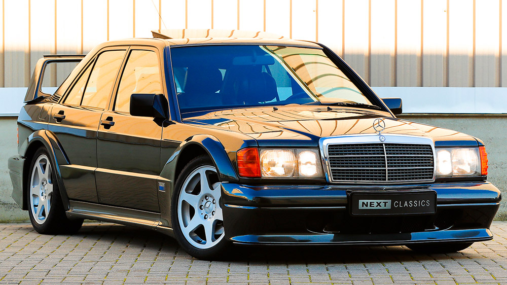 A 1990 Mercedes-Benz 190E 2.5-16 Evolution II.