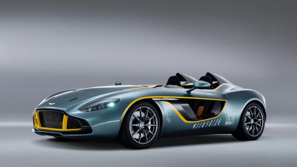 Aston Martin's CC100 Speedster Concept from 2013.