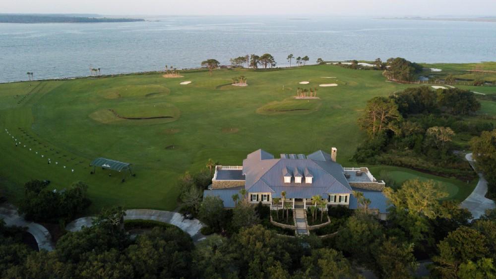 The Lodge at Sea Island golf driving range