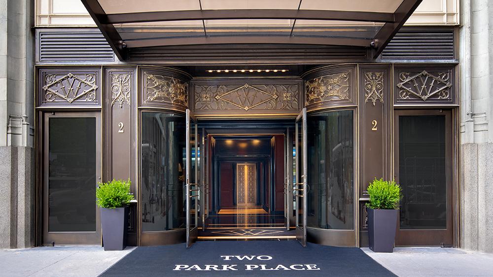 2 Park Place Entrance
