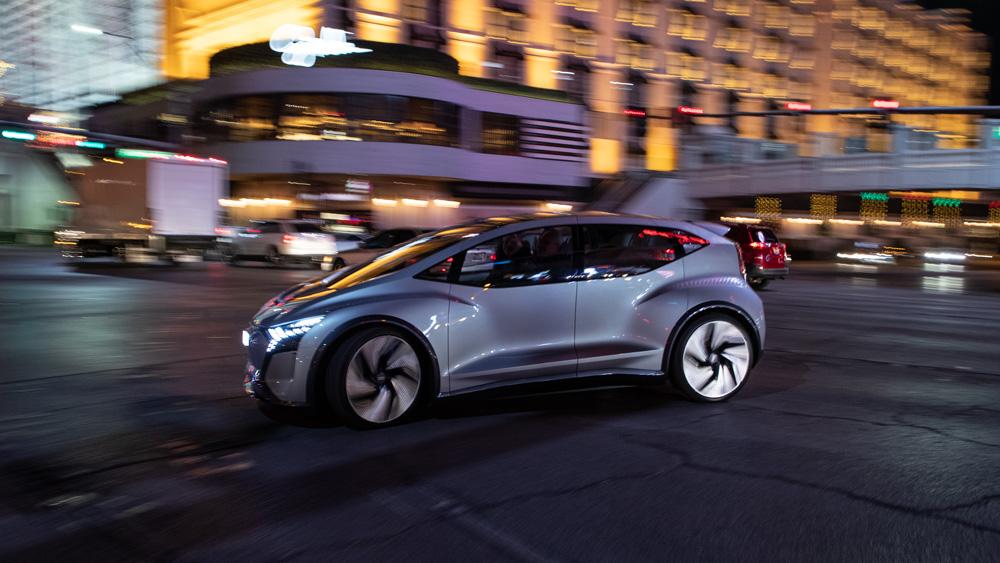 Audi's AI:ME Autonomous Car Concept.