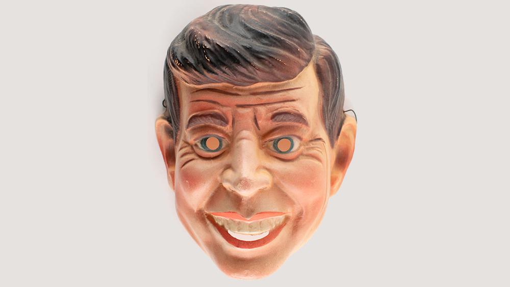President John F. Kennedy Halloween mask
