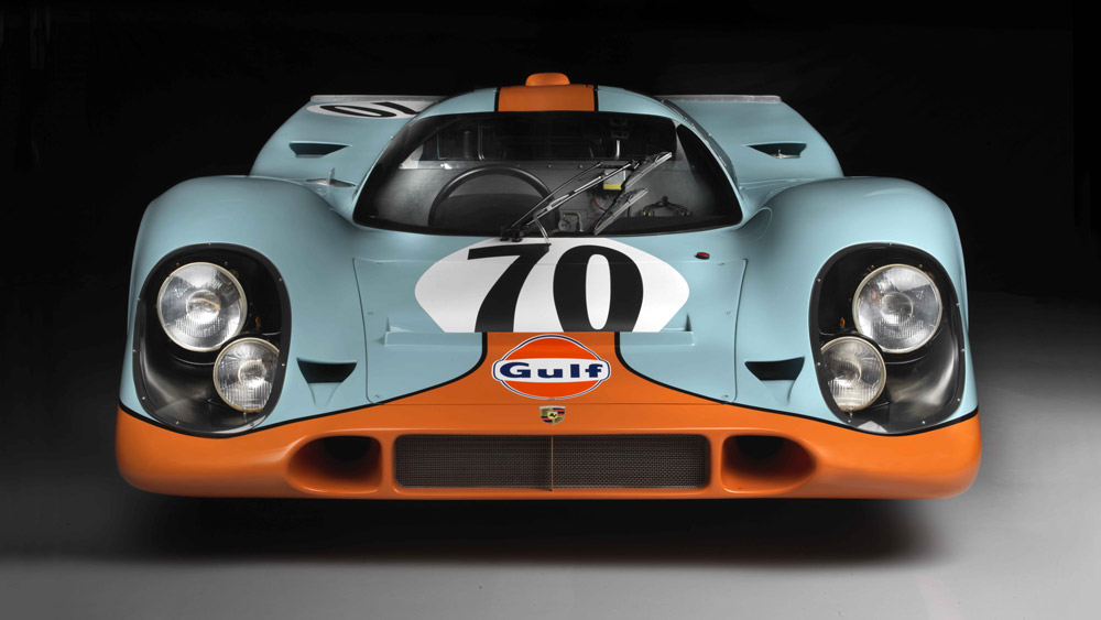 The 1970 Porsche 917K driven by Steve McQueen in the movie Le Mans.