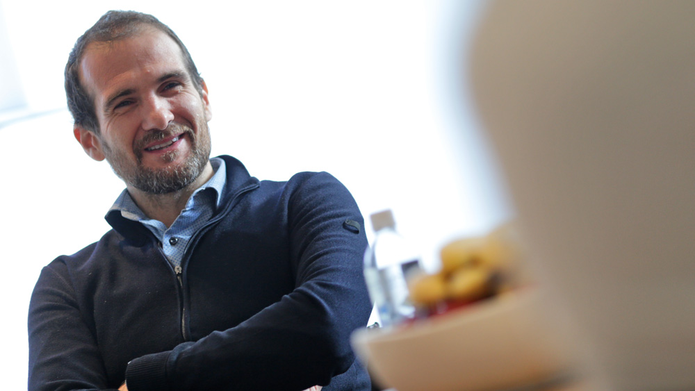 Tommaso Volpe, Infiniti's director of global motorsport.