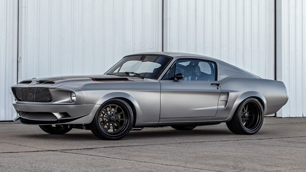 The Villain Mustang by Classic Recreations.
