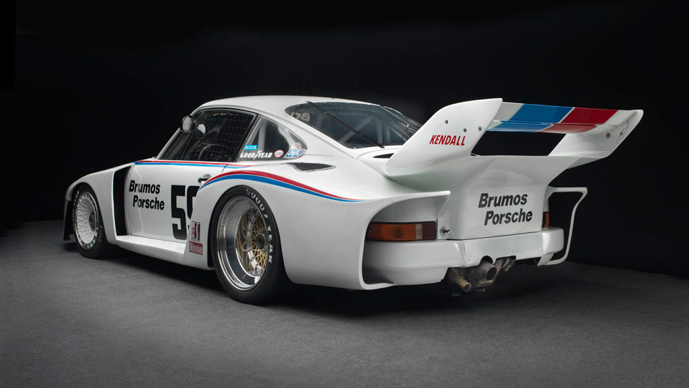 The 1979 Porsche 935 that Peter Gregg drove to eight wins and eight pole positions.