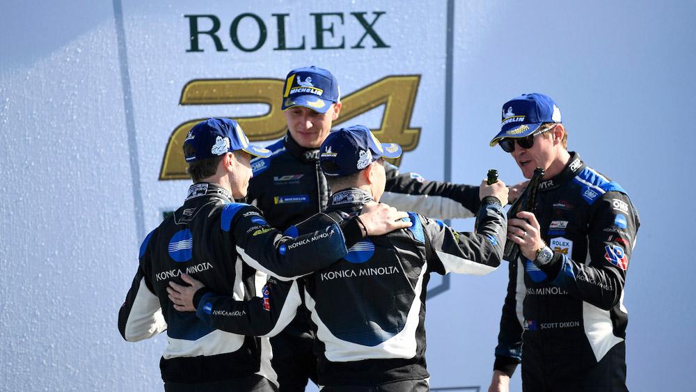 Winners of the 2020 Rolex 24 Hours at Daytona.