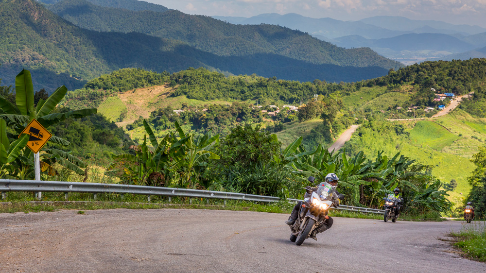 The Thailand Extreme motorcycle adventure with Edelweiss Bike Tours.
