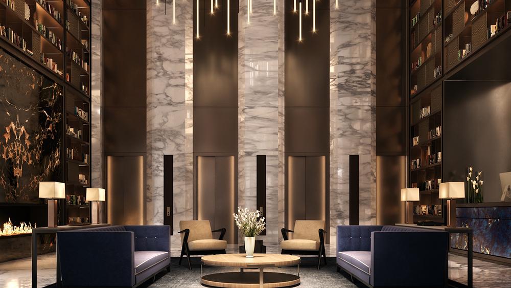 125 Greenwich lobby