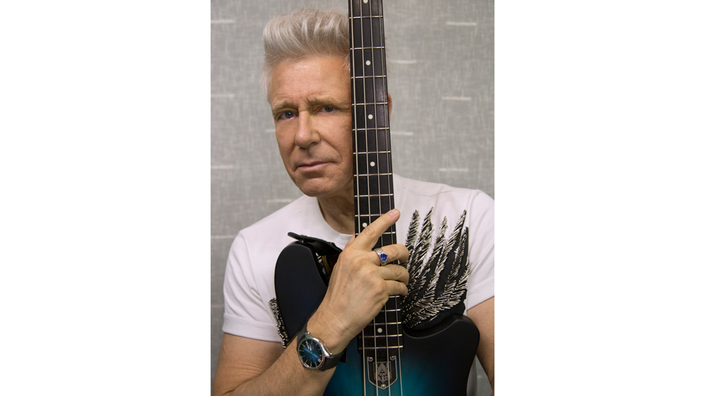 Adam Clayton and His H. Moser & Cie Watch