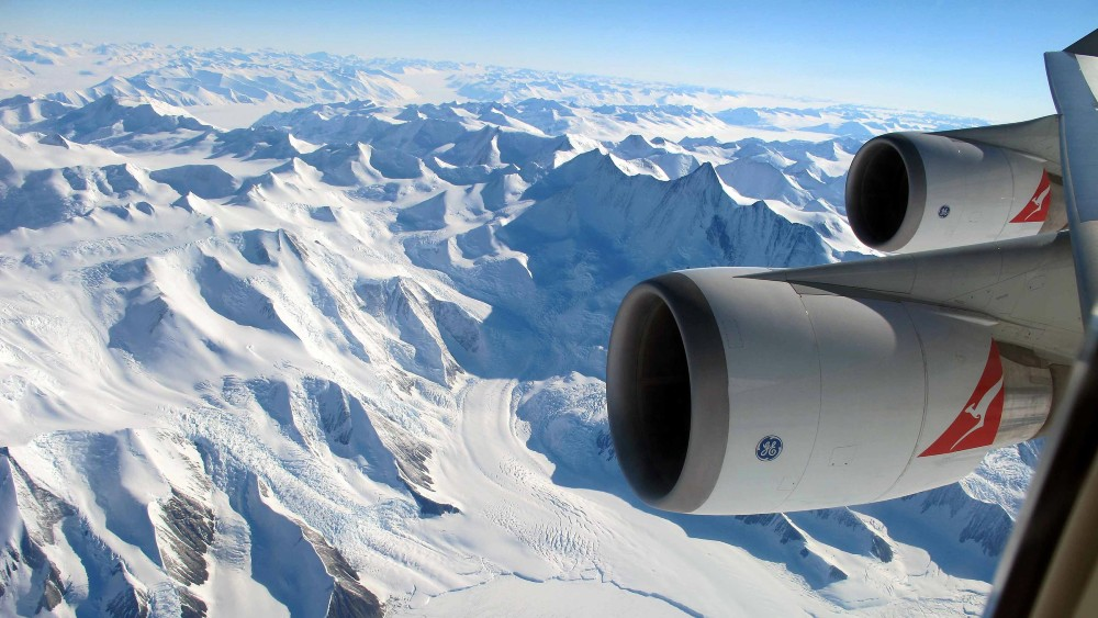 Antarctica Flights private charter