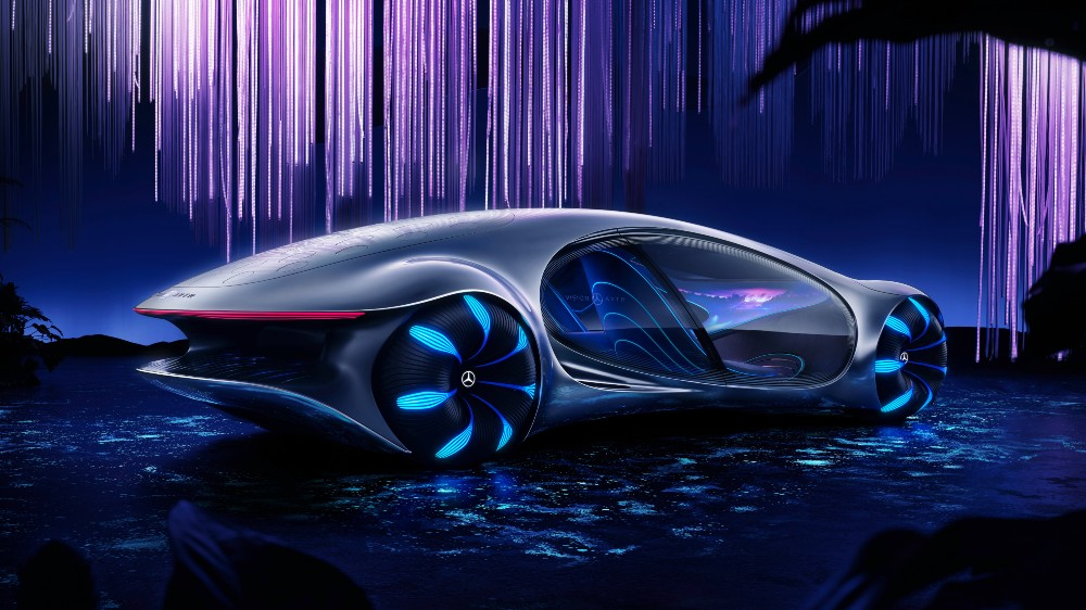 The Mercedes-Benz Vision AVTR concept