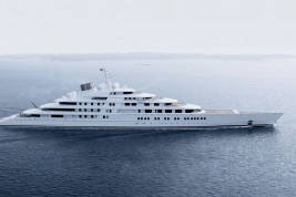 "Lürssen's ""Azzam"" Superyacht"