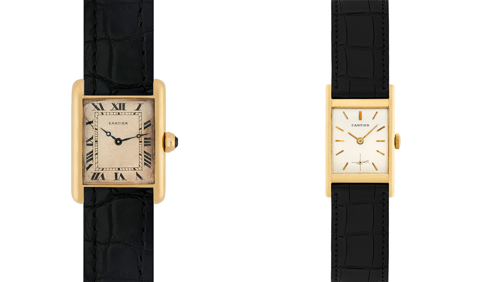 Vintage Cartier Watches at Dover Street Market